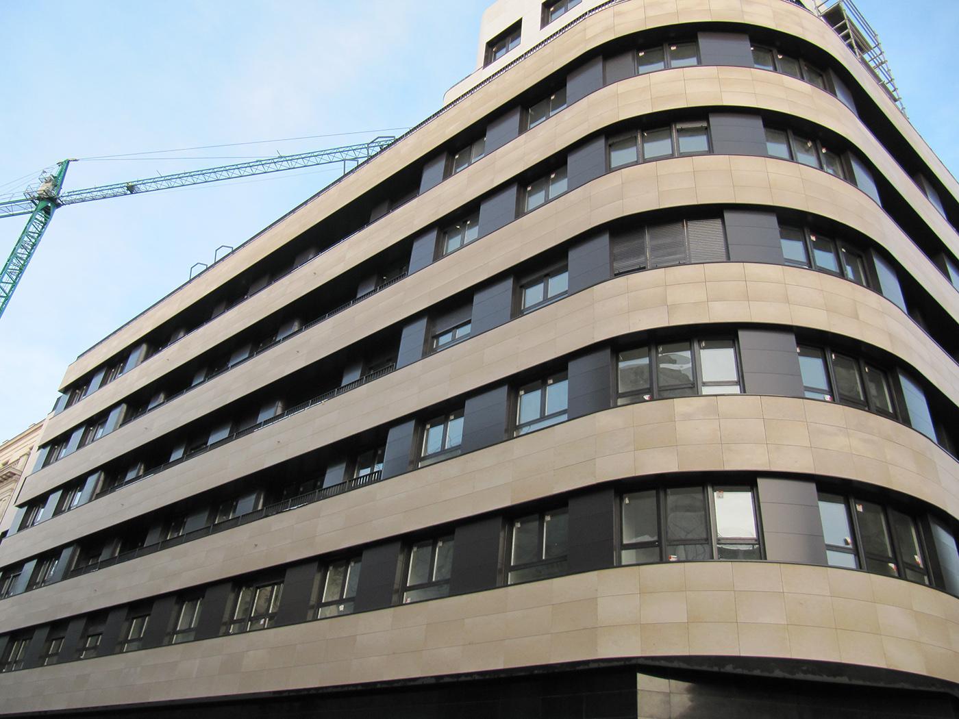 Fachadas ventiladas composite Bilbao